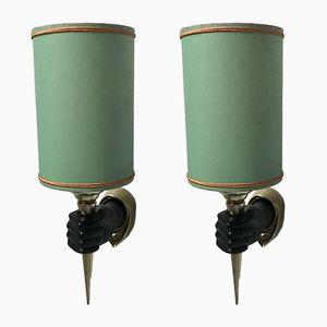 Vintage Wandlampen, 2er Set