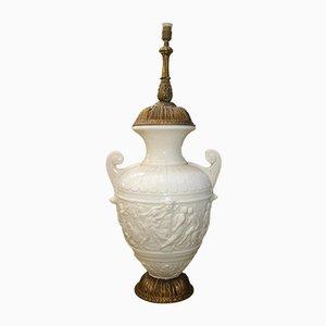 Vintage Tischlampe aus Keramik, 1950er