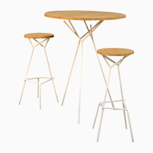 BODENN High Table & 2 Stools from Kinkl