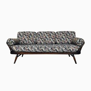 Model 355 Three-Seater Elm Bench by Lucian Ercolani for Ercol, 1956