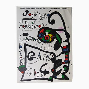 Spanisches Joan Miró Ausstellungsplakat, 1967