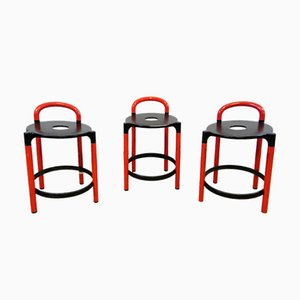 Italian Polo Stools by Anna Castelli for Kartell, 1970s, Set of 3