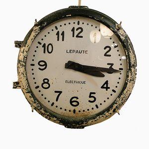 Station Clock from Lepaute, 1950s