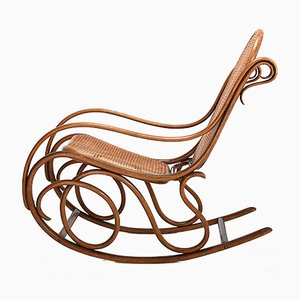 Antique No. 6 Rocking Chair by Michael Thonet for Thonet