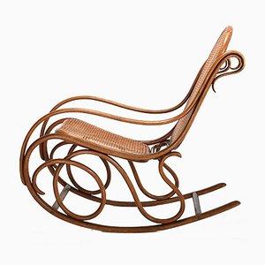 Rocking Chair N°6 Antique par Michael Thonet pour Thonet