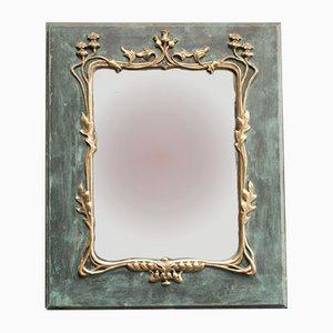 Specchio Art Nouveau antico