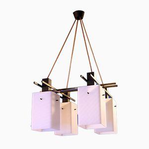 Lámpara colgante de Stilux Milano, años 50