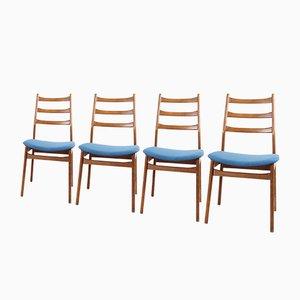 Deutsche Esszimmerstühle von Casala, 1960er, 4er Set