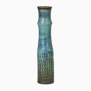 Vase aus Steingut von Stig Lindberg für Gustavsberg, 1960er