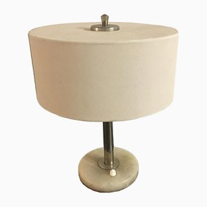 Vintage Tischlampe aus Alabaster