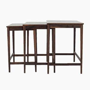Swedish Mid-Century Nesting Tables, 1960s