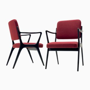 Armchairs by Alfred Hendrickx for Belform, 1954, Set of 2