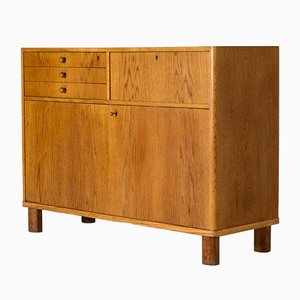 Oak Sideboard by Axel Larsson for Bodafors, 1930s