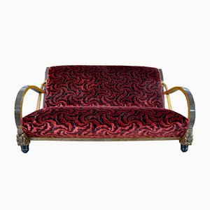 Italienisches Art-Deco Sofa, 1930er