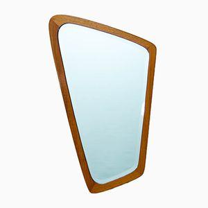 Vintage Scandinavian Asymmetrical Mirror
