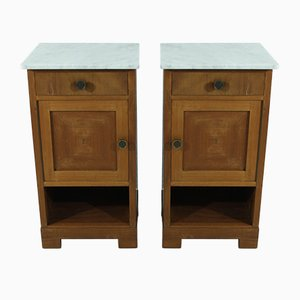 Bedside Cabinets, 1930s, Set of 2