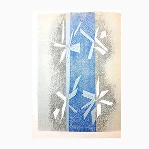 Lithographie Composition par André Beaudin pour Mourlot, 1964