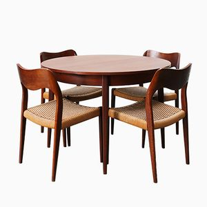 Mid-Century Danish Dining Room Set by Niels Otto Moller for J.L. Møllers