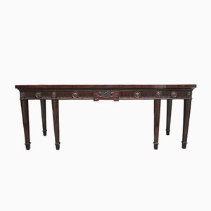Large Mahogany Serving Table, 1790s