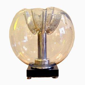 Tischlampe aus Muranoglas von Mazzega, 1970er