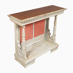 Baroque Renaissance Revival Console from Bassano's Ebanistery