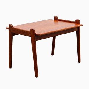 Table Basse Vintage en Teck par Fredrik A. Kayser pour Vatne Lenestolfabrikk