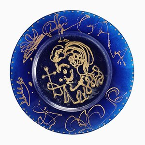 Triomphale Plate by Salvador Dali for Daum, 1972