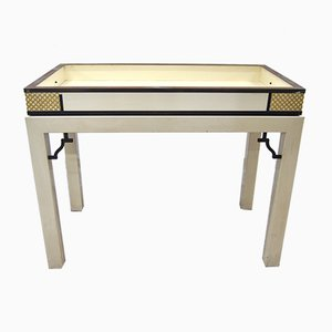 Console Table with Removable Top by Alessandro Gioia for Colony, 1970s