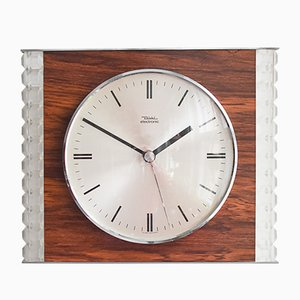 Mid-Century Modern Wall Clock from Diehl