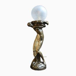 Vintage Werkstatt-Tischlampe, 1920er
