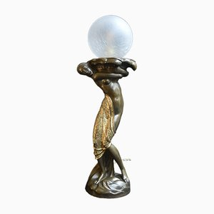 Vintage Workshop Table Lamp, 1920s