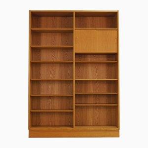 Vintage Bücherregal aus Eschenholz von Poul Hundevad