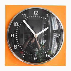Horloge Murale Mid-Century de Krups