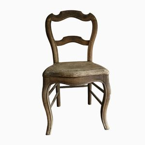 Vintage Rustic Wooden Chair