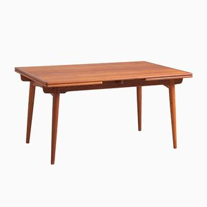Vintage Teak AT 312 Dining Table by Hans J. Wegner for Andreas Tuck