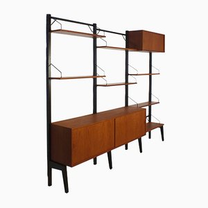 Standing Royal System Wall Unit by Poul Cadovius for Cado, 1960s