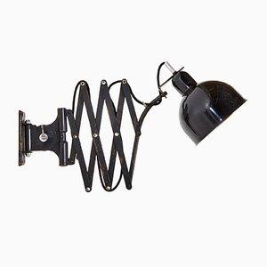 Lámpara acordeón Bauhaus de Kaiser Idell, años 50