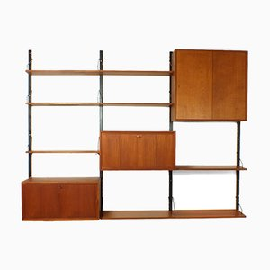 Vintage Danish Royal System Wall Unit by Poul Cadovius for Cado