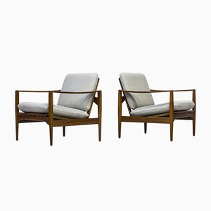 Danish Armchairs by Illum Wikkelsø for N. Eilersen, 1960s
