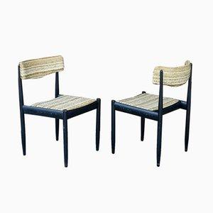 Dänische Stühle, 1960er, 2er Set