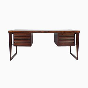 Modell 70 Schreibtisch aus Palisander von Kai Kristiansen für Feldballes Møbelfabrik