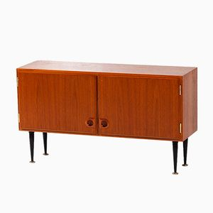 Small Danish Teak Sideboard, 1960s