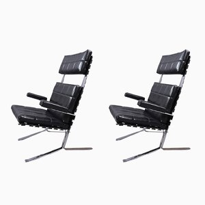 Grand Joker Lounge Chairs by Olivier Mourgues for Airborne, Set of 2