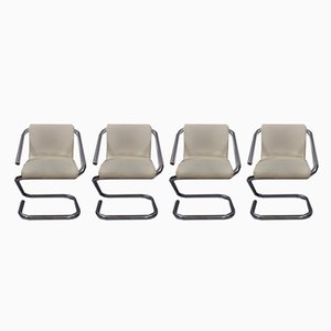 Vintage Gamma Dining Chairs by Gheorghiu Ion for Kappa, Set of 4
