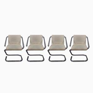 Vintage Gamma Esszimmerstühle von Gheorghiu Ion für Kappa, 4er Set