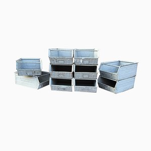 Lager-Fix Filing Boxes from Schäfer, Set of 10