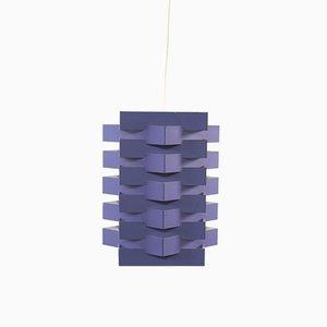 Luminaire en Forme d'Étoile Mid-Century Violette par Esmann & Jensen pour Nordisk Solar
