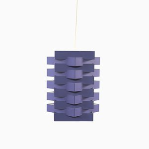Mid-Century Purple Star-Shaped Light by Esmann & Jensen for Nordisk Solar