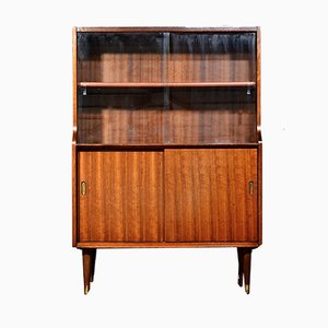 Mid-Century Walnut Cabinet or Bookcase