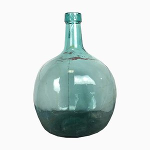 Mid-Century Green Vase from Viresa